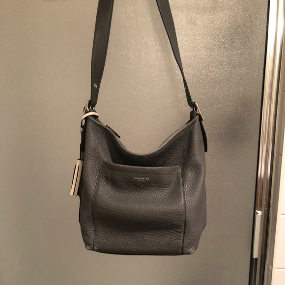Grey Coach purse, gently used and well loved!
